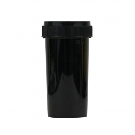 40 Dram Child Resistant Reversible Cap Vials Black